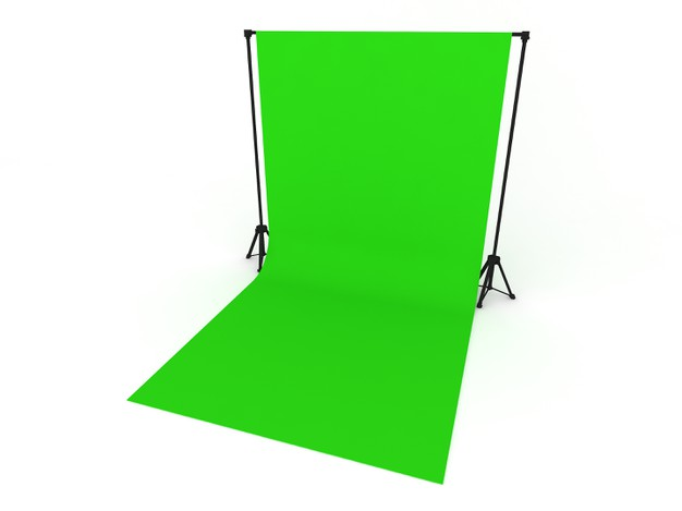 fondale grafico green screen