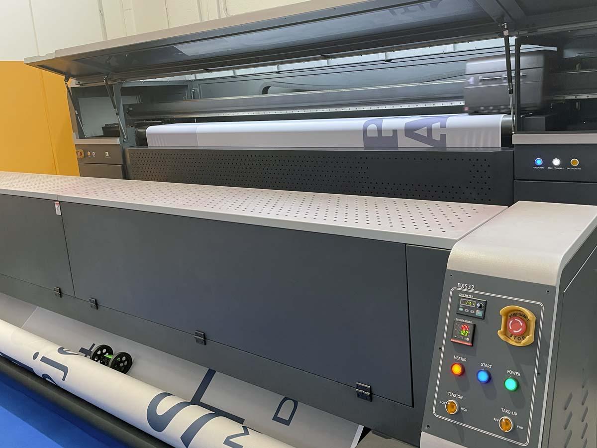 stampa digitale grande formato tessuti